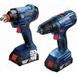 Набор инструментов Bosch GDX180-LI+GSR 180-LI (0.601.9G5.222)