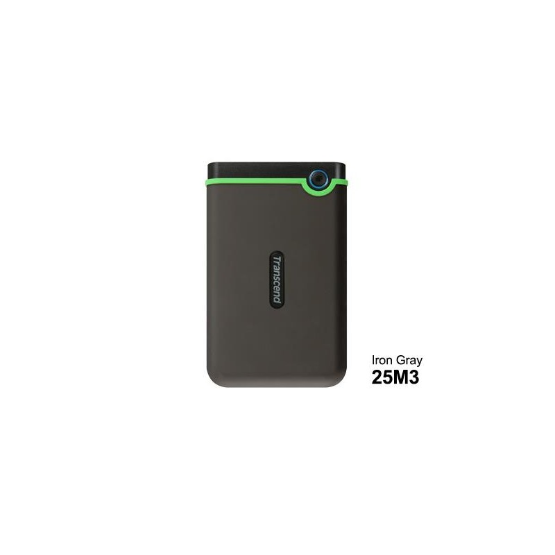 HDD Transcend StoreJet 2.5 USB 3.0 2TB Iron Gray Slim.