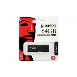 Накопитель Kingston 64GB USB 3.0 DT100 G3