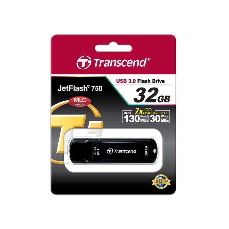 Накопитель Transcend 32GB USB 3.0 JetFlash 750