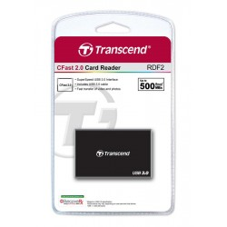 Кардридер Transcend USB 3.0 CFast Black