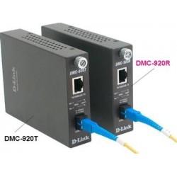 Медиаконвертер D-Link DMC-920R 1x100BaseTX- 100BaseFX, WDM (ТХ