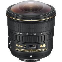 Объектив Nikon 8-15mm f/3.5-4.5E ED AF-S FISHEYE