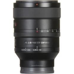 Объектив Sony 100mm, f/2.8 STF GM OSS для камер NEX FF