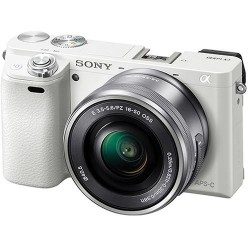 Фотокамера Sony Alpha 6000 kit 16-50mm White