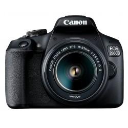 Фотокамера зеркальная Canon EOS 2000D + объектив 18-55 IS II +