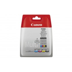Картридж Canon CLI-471 Cyan/Magenta/Yellow/Black Multi Pack
