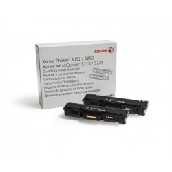 Тонер картридж Xerox PH3052/3260/WC3215/3225 Black (2*3000 стр)