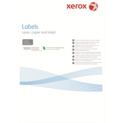 Наклейка Xerox Mono Laser 24UP (rounded) 64x34mm 100л.