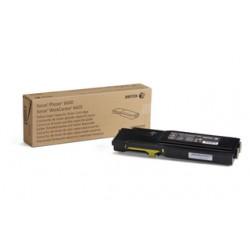 Тонер картридж Xerox PH6600/WC6605 Yellow (6000 стр)