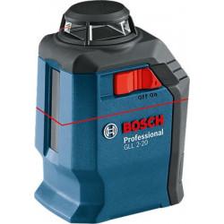 Нивелир лазерный Bosch Professional GLL 2-20 + BM3 + кейс