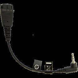 Кабель Jabra Mobile QD cord + 2.5mm jack (8800-00-46)
