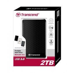 HDD Transcend StoreJet 2.5 USB 3.0 2TB серия A черный