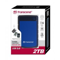 HDD Transcend StoreJet 2.5 USB 3.0 2TB серия H Blue