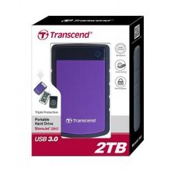 HDD Transcend StoreJet 2.5 USB 3.0 2TB серия H Purple
