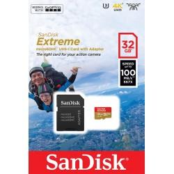 Карта памяти SanDisk 32GB microSDHC V30 A1 UHS-I U3