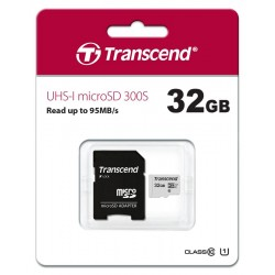 Карта памяти Transcend 32GB microSDHC C10 UHS-I R95/W45MB/s +