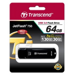 Накопитель Transcend 64GB USB 3.0 JetFlash 750