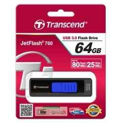 Накопитель USB 64GB 3.0 Transcend JetFlash 760