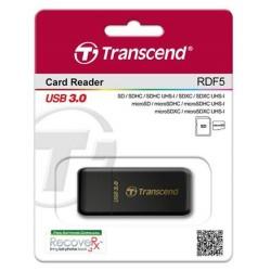 Кардридер Transcend USB 3.0, черный