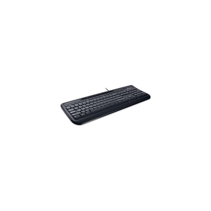 Клавиатура Microsoft Wired Keyboard 600 USB Black Ru