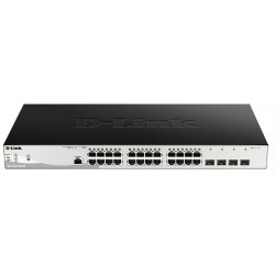 Коммутатор D-Link DGS-1210-28P/ME rev B 24x1G PoE, 4xSFP