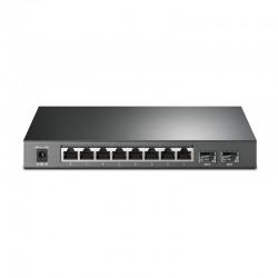 Коммутатор TP-LINK T1500G-10PS (TL-SG2210P) 8x1GE/8xPoE 53W