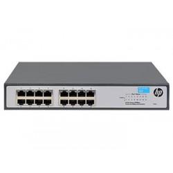 Коммутатор HP 1420-16G Unmanaged Switch, 16xGE ports L2, LT