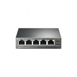 Коммутатор TP-LINK TL-SF1005P 5xFE/4xPoE 56W, Неуправляемый