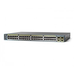 Коммутатор Cisco Catalyst 2960 Plus 48 10/100 PoE + 2 1000BT +2