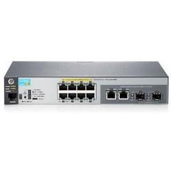 Коммутатор HP 2530-8G-PoE+ 8xGE+ 2xGE-T/SFP, L2, 67W PoE, L2