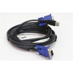 Комплект кабелей D-Link DKVM-CU для KVM-переключателей с USB