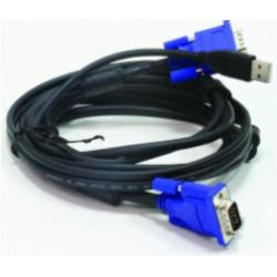 Комплект кабелей D-Link DKVM-CU3 для KVM-переключателей с USB