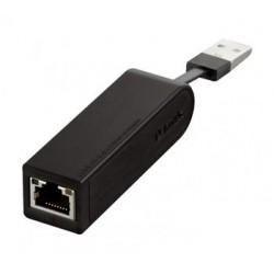 Сетевой адаптер D-Link DUB-E100 1port 10/100BaseTX, USB 2.0