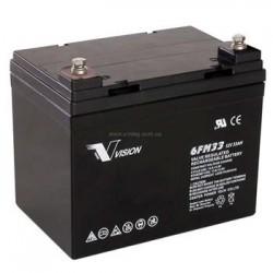 Аккумуляторная батарея Vision FM 12V 33Ah