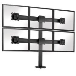 Подставка Chief Kontour K3G320 для 6-ти мониторов, черная