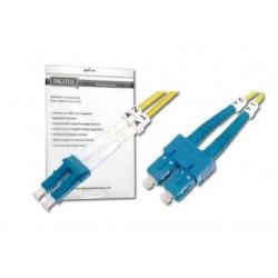 Оптический патч-корд DIGITUS LC/UPC-SC/UPC, 9/125, OS2,duplex,1m