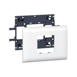 DLP Legrand cуппорт Mosaic (2 модуля) для кабель-каналов с