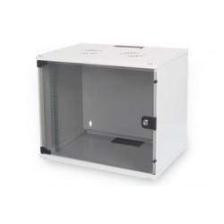 """Шкаф DIGITUS 19"""" 7U 540x400, стекл.дверь, 60kg max, серый"""
