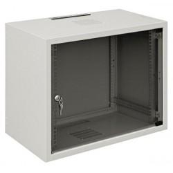 """Шкаф ZPAS 19"""" 12U 600x400, стекл.дверь, 30kg max, серый"""